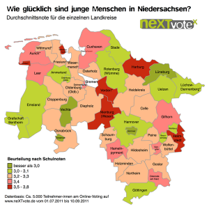 Wie glücklich sind junge Menschen in Niedersachsen?